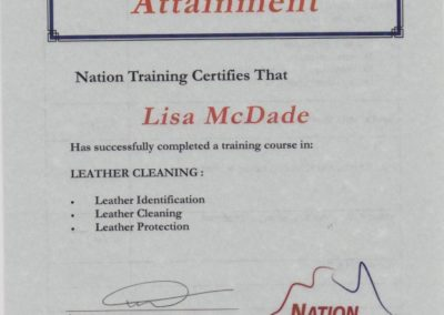 Mcdade Cert 3 Leather